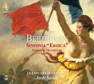 Beethoven eroica savall 1994 cd alia vox review compte rendu critique announce of AVSA9916-1