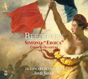 Beethoven eroica savall 1994 cd alia vox review compte rendu critique announce of AVSA9916-1