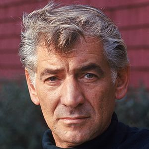 Bernstein leonard Porträt couleur 1980 300