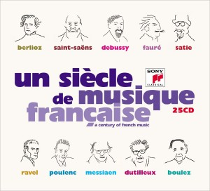 un siecle de musique francaise berlioz saint saens sony classical 25 cd coffret review preview account of critique cd CLASSIQUENEWS