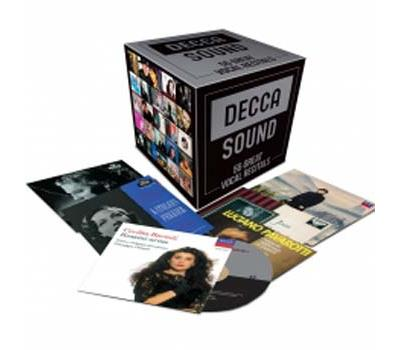 DECCA SOUND 55 great recital singers for Decca coffret box cd review critique cd CLASSIQUENEWS
