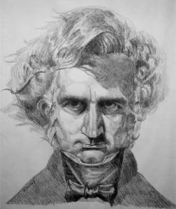 berlioz-hector-dessin-michael-leonard-1980