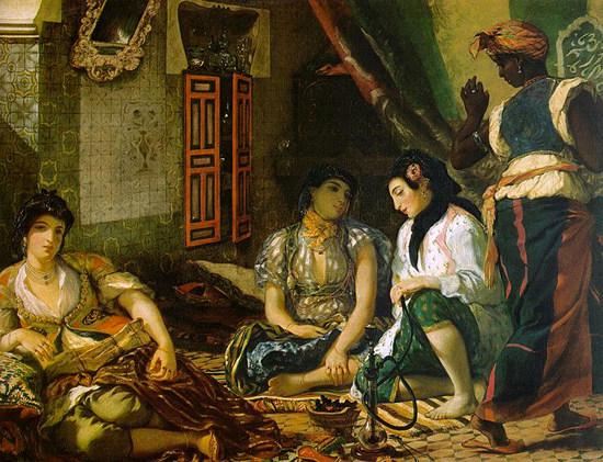femmesdalgerdansleurappartement-delacroix-peinture-rossini-l'italienne-a-alger