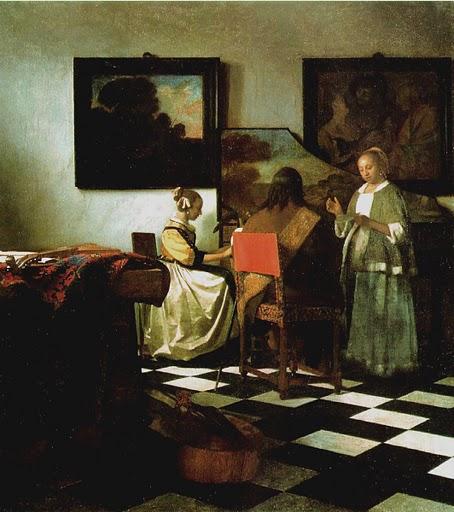 Vermeer, Concert 1665f