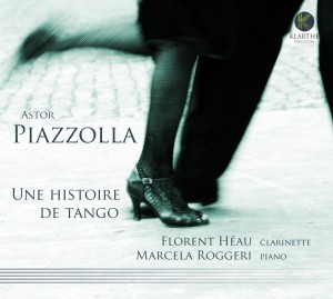 piazzolla heau florent clarinette marcela roggeri piano review cd classiquenews critique cd