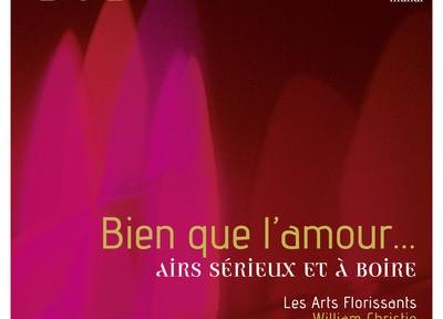 christie william les arts florissants bien que l amour cd critique review presentation reviex cd critique classiquenews CLIC de classiquenews