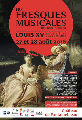 fontainebleau fresques musicales aout 2016 presentation review compte rendu classiquenews selection evenement classiquenews