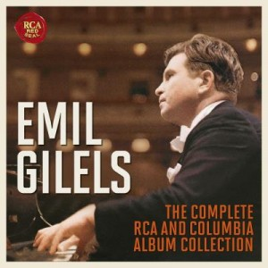 gilels emil piano coffret box set complete rca columbia album collection reviex presentation critique cd classiquenews CLIC septembre 2016