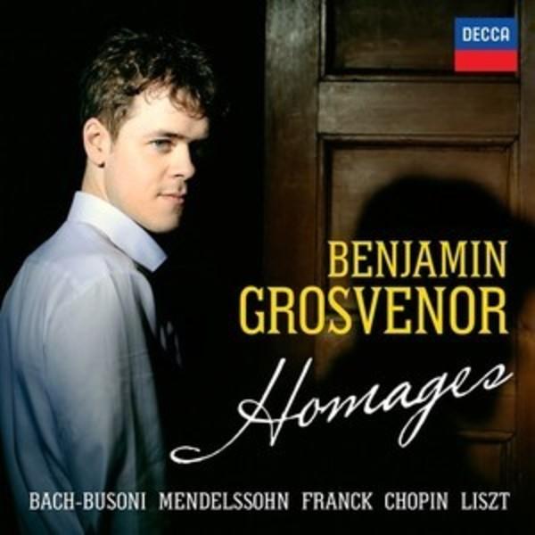 grosvenor benjamin cd decca homage liszt cesar franck cd review announce annonce compte rendu classiquenews