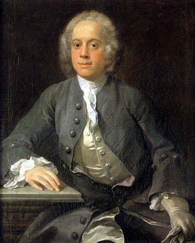 hogarth portrait of man portrait d homme Handel haendel william hogart
