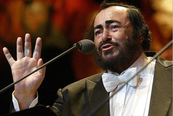 Hommage à Luciano Pavarotti sur France 3
