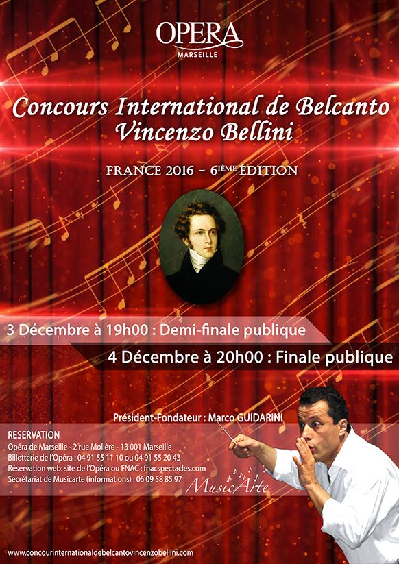 marseille concours de bel canto bellini les  et decembre