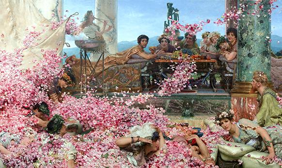 eliogabalo-les-roses-le-rose-peinture-classiquenews-eliogabalo-cavalli-critique-review-compte-rendu-classiquenews