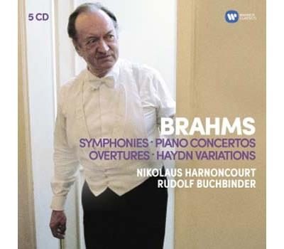 harnoncourt brahms 5 cd warner classics review critique cd classiquenews compte rendu critique cd