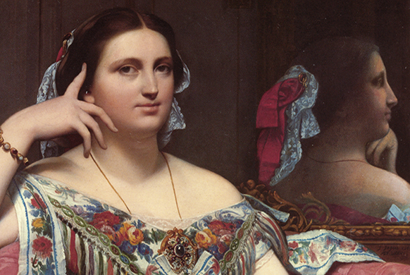 ingres-madame-moitessier-582-390-second-empire-exposition-orsay-presentation-annonce-resume-review-critique-classiquenews