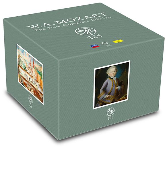 Nouvelle Edition complète MOZART en 200 cd