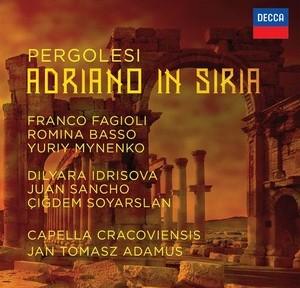 pergolesi adriano in siria decca adamus capella cracoviensis cd classiquenews review critique CLIC découverte 4830004