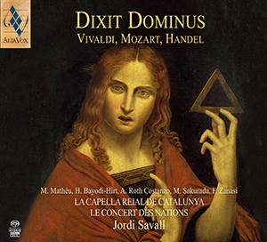 dixit dominus handel mozart vivaldi jordi savall alia vox cd review cd critique classiquenews presentation