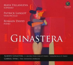 ginastera langot david cd klarthe critique review cd classiquenews KLA016couv