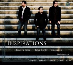 inspirations frederic tardy julien hardy simon zaoui cd klarthe classiquenews review critque cd sur classiquenews k005couv klarthe records