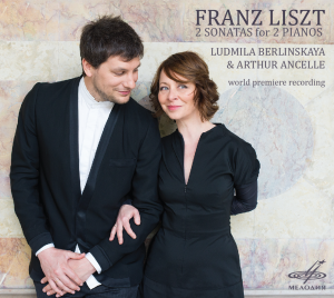 liszt duo ludmila berlinskaia arthur ancelle piano review presentation critique cd classiquenews