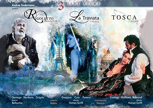 dvd andrea andermann rigoletto tosca traviata verdi puccini 3 films en direct review critique dvd classiquenews
