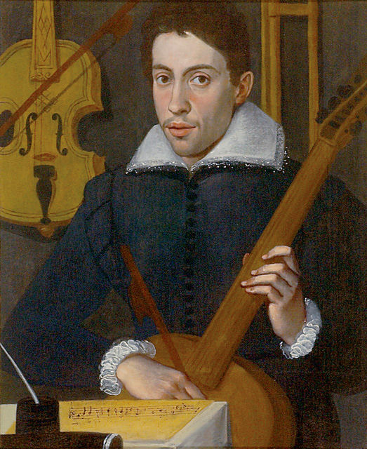 monteverdi claudio jeune maestro de mantoue classiquenews Portrait_of_a_Musician_by_a_Cremonese_artist_-_Ashmolean_Museum