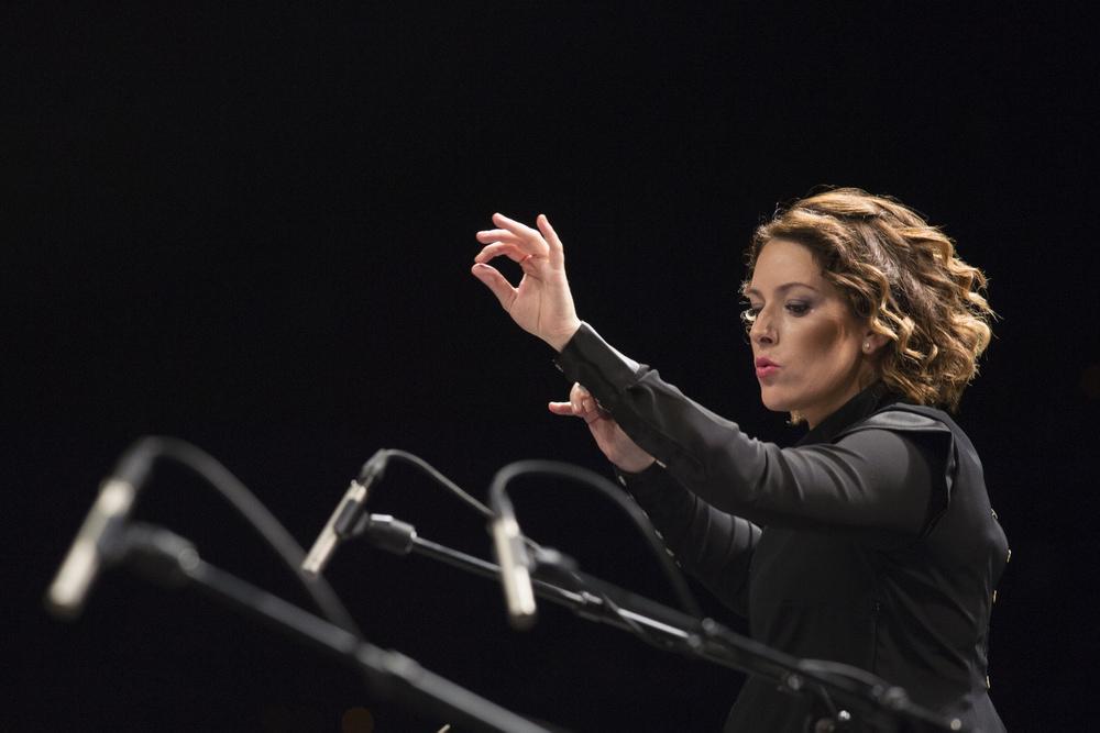 parra alondra de la maestro cheff directrice London Philharmonic Orchestra Foto Fernando Aceves 14