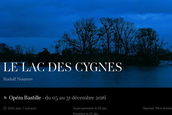 LE LAC DES CYGNES à l'Opéra Bastille