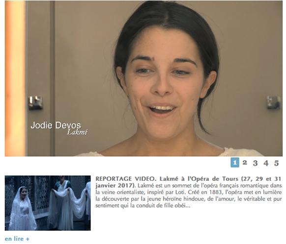 devos-Jodie-Lakme-a-tours-entretien-reportage-classiquenews