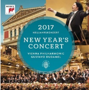 nouvel-an-concert-vienne-2017-janvier-gustavo-dudamel-wiener-philharmoniker-compte-rendu-review-cd-dvd-classiquenews