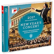 concert nouvel an neujahrs konzern 2017 dudamel wiener cd