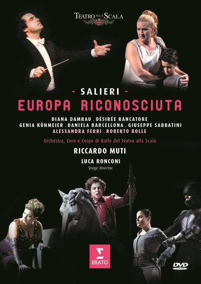 salieri europa riconosciuta dvd riccardo muti alla scala ERATO diana damrau classiquenews review dvd critique CLIC de classiquenews 1507-1