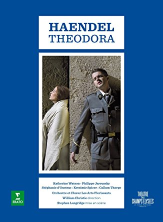 haendel handel theodora erato christie jaroussky watson spicer doustrac les arts florissants dvd erato dvd