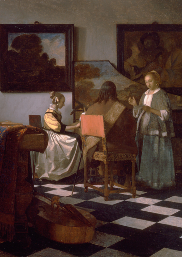 PARIS, exposition Vermeer