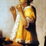 vermeer femme aux perles