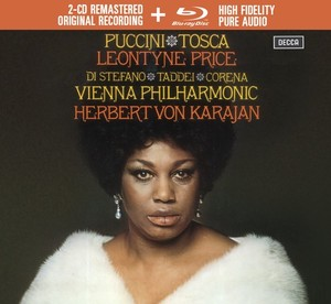 karajan leontyne price tosca di stefano corena TOSCA PUCCINI classiquenews cd review cd critique