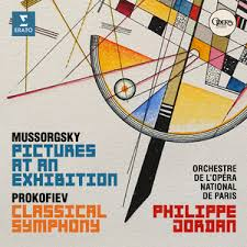 mussorgski pictures at an exhibition tableaux d'une exposition philippe jordan orchestre opera paris cd review critique de cd CLASSIQUENEWS