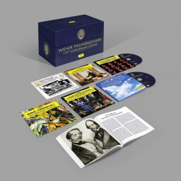 wiener philharmoniker 175th anniversary edition deutsche grammophon coffret box cd review critique cd CLIC de classiquenews 1487668921_4797090