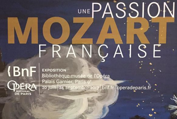 PARIS : Mozart et la France s'exposent au Palais Garnier