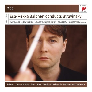 sony classical salonen esa-pekka salonen conducts stravinsky 7cd sony classical announce review critique cd par classiquenews