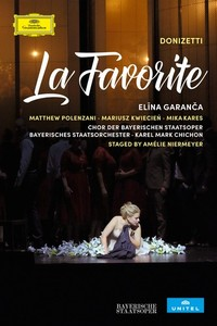 donizetti la favorite elina garanca chichon munich dvd deutsche grammophon by classiquenews