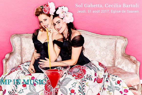 DUO de charme et de choc : Sol Gabetta et Celilia Bartoli accordent leurs voix
