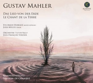 MAHLER chant de la terre eve maud hubeaux orchestre hugo verdier cd critique review presentation par classiquenews kla043couv_low