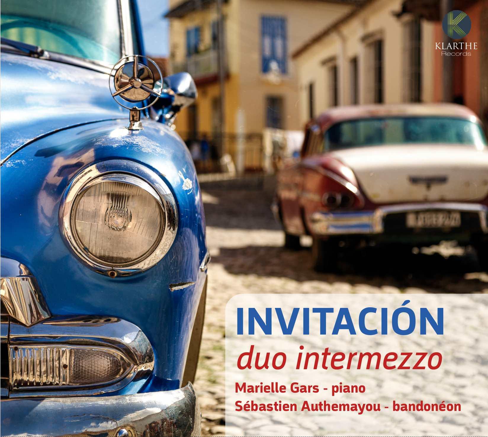Klarthe invitacion duo intermezzo cd klarthe critique compte rendu classiquenews clic de classiquenews octobre 2017 kla048couv_low
