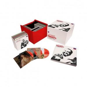 PAVAAROTTI the complete opera recordings decca coffret box set review presentation by par classiquenews
