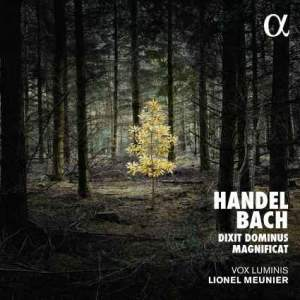 alpha BACH HANDEL dixit dominus  lionel meunier vox luminis cd alpha critique cd review cd critique par classiquenews cd alpha370