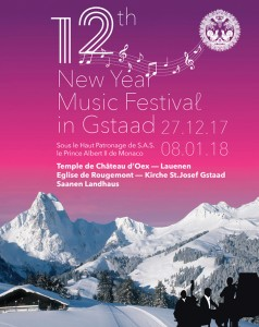 Le NEW YEAR MUSIC FESTIVAL à GSTAAD !