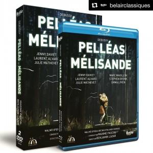 debussy dvd pelleas melisande marc mauillon dvd critique review dvd par classiquenews