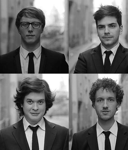 quatuor van kuijk concert a poitiers janvier 2018 presentation annonce par classiquenews